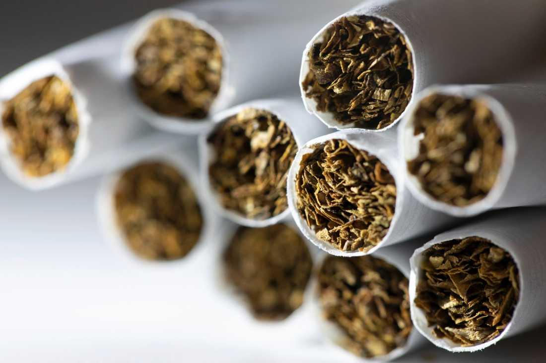 Dåliga ingredienser och livsfarliga arbetsvillkor, var polisens omdöme om den olagliga cigarettfabriken i bunkern. Arkivbild.