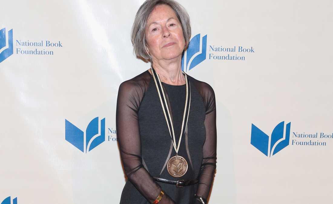Den amerikanska poeten Louise Glück.