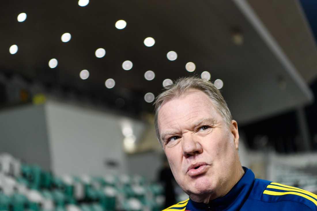 Svenska fotbollförbundets ordförande Karl-Erik Nilsson