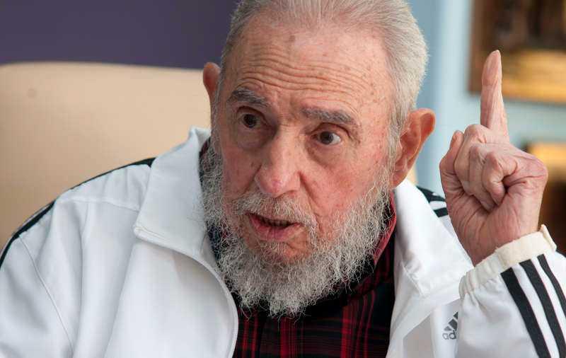 Fidel Castro styrde Kuba från revolutionen till 2008.
