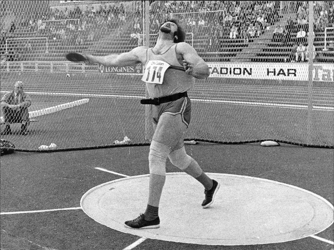 Bruch tangerar världsrekordet 1972.