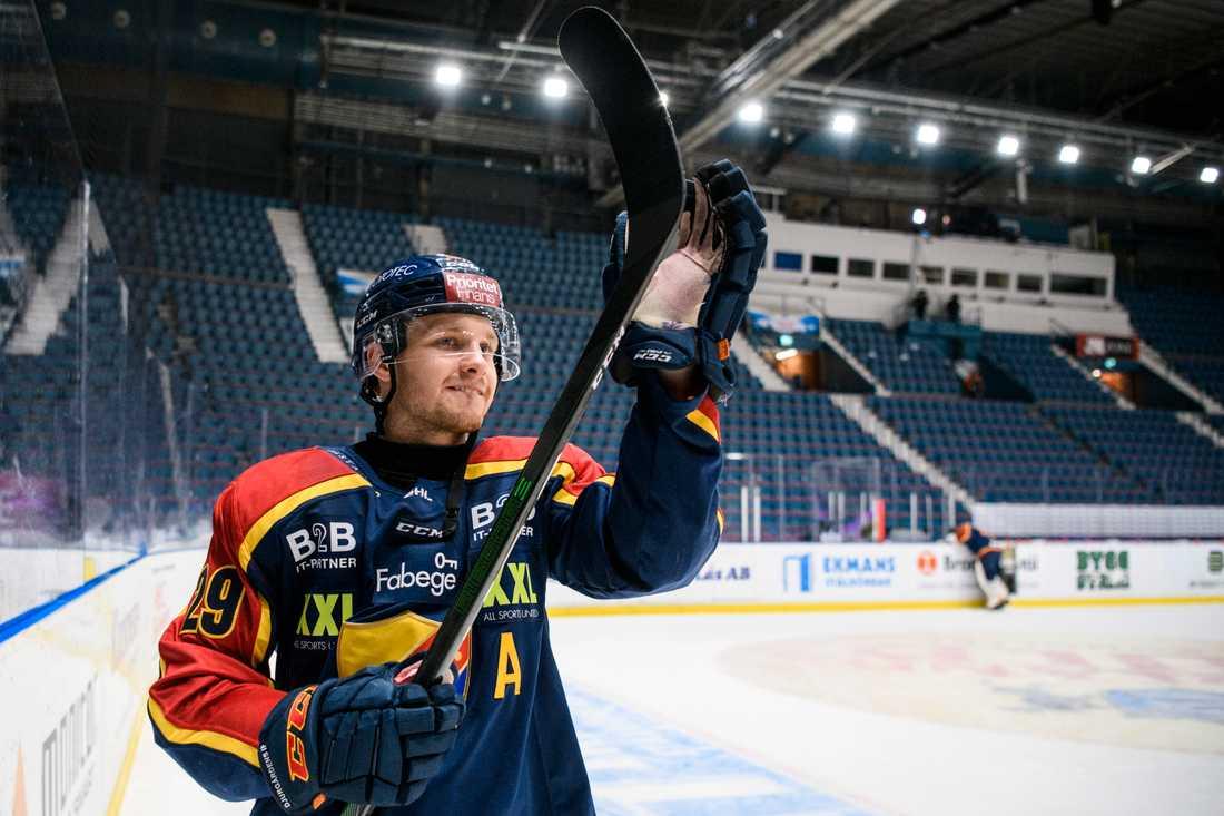 """Sebastian Strandberg släpptes av i Borlänge för att han kände sig """"lite vissen""""."""