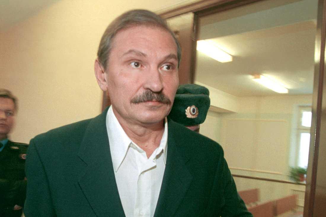 Nikolaj Glusjkovs död i London bedöms ha varit ett mord. Arkivbild.
