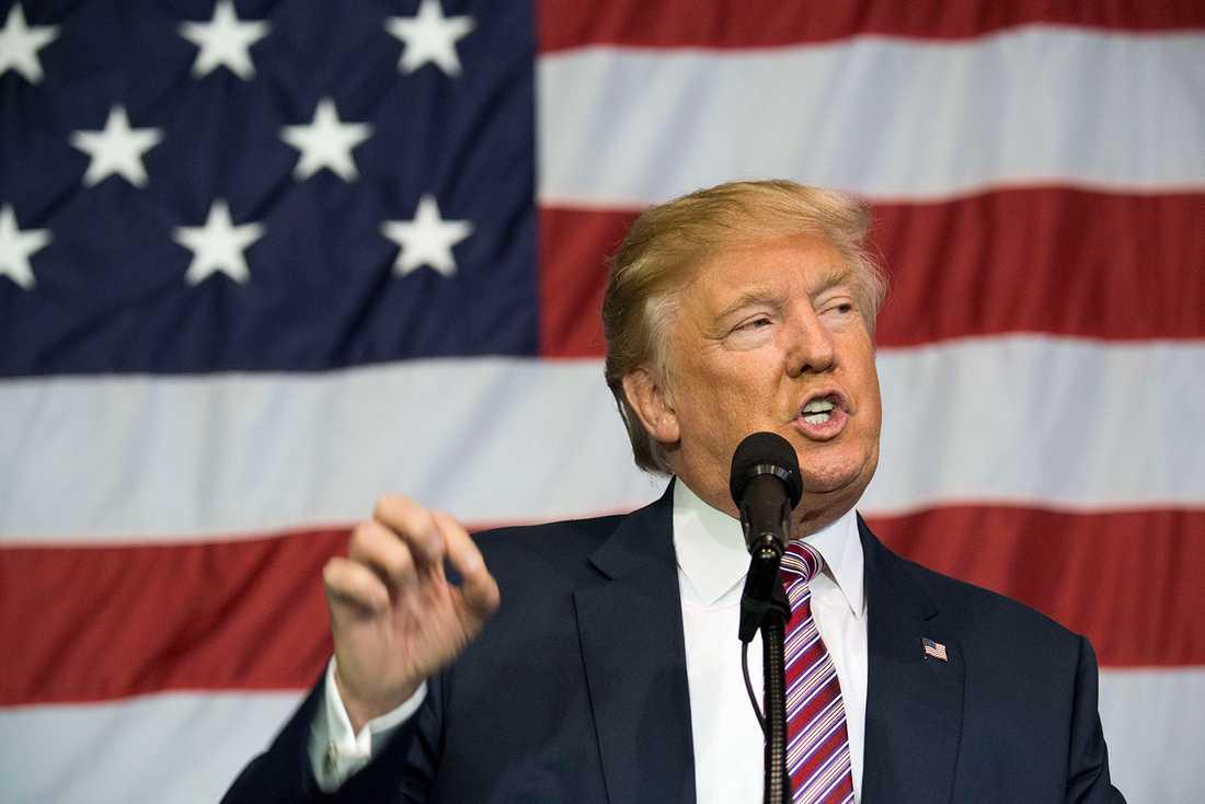 Donald Trump - en handgranat eller ett långfinger åt världen.
