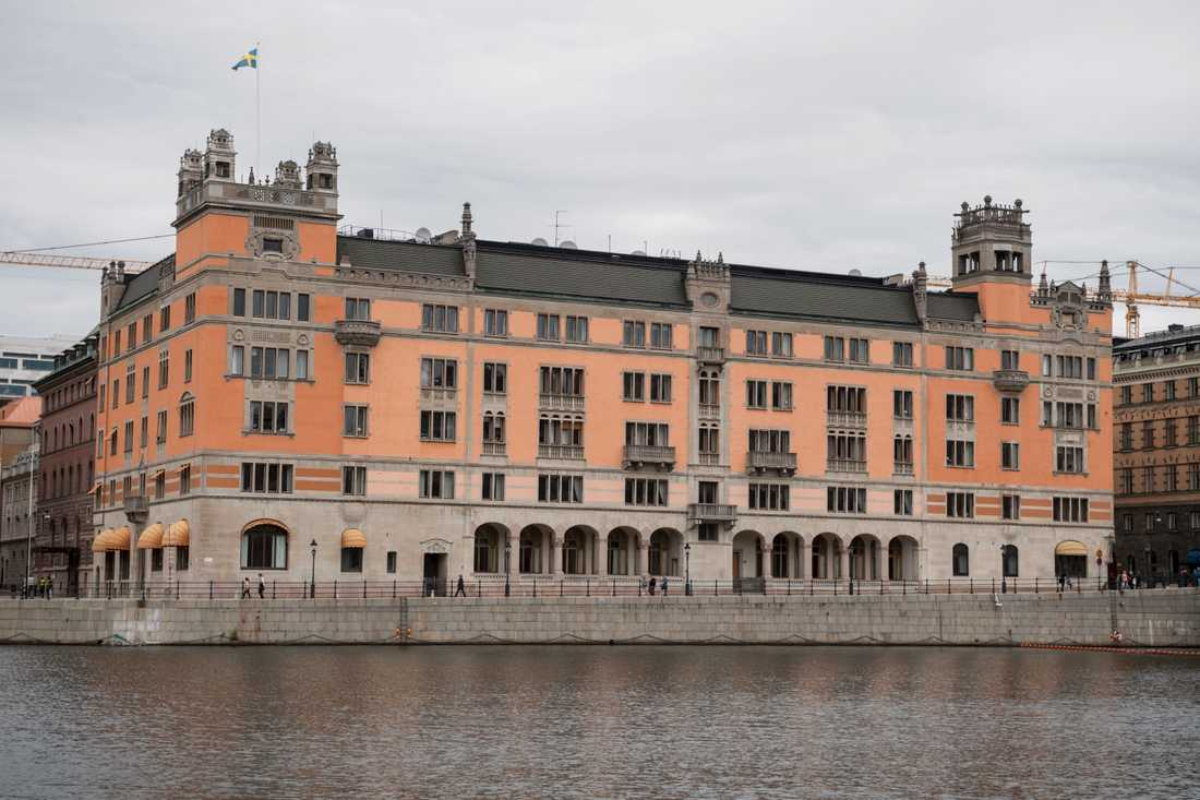 Rosenbad i Stockholm. Arkivbild.