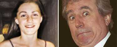 Inte alls Pyton Okända svenska Anna Söderström, 22, är den 63-åriga Monty Python-stjärnan Terry Jones nya flickvän.