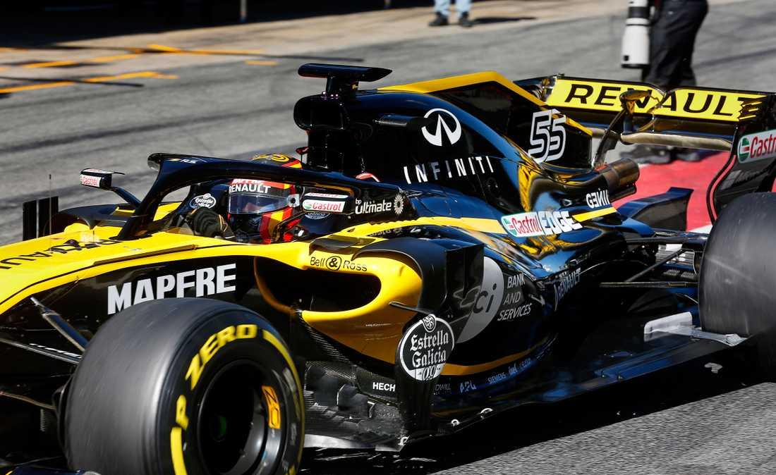 Carlos Sainz körde 91 varv med sin Renault. Teamet förväntas ta stora steg framåt i år. Hans teamkollega Nico Hülkenberg hade däremot problem med en sensor och körde bara 48.
