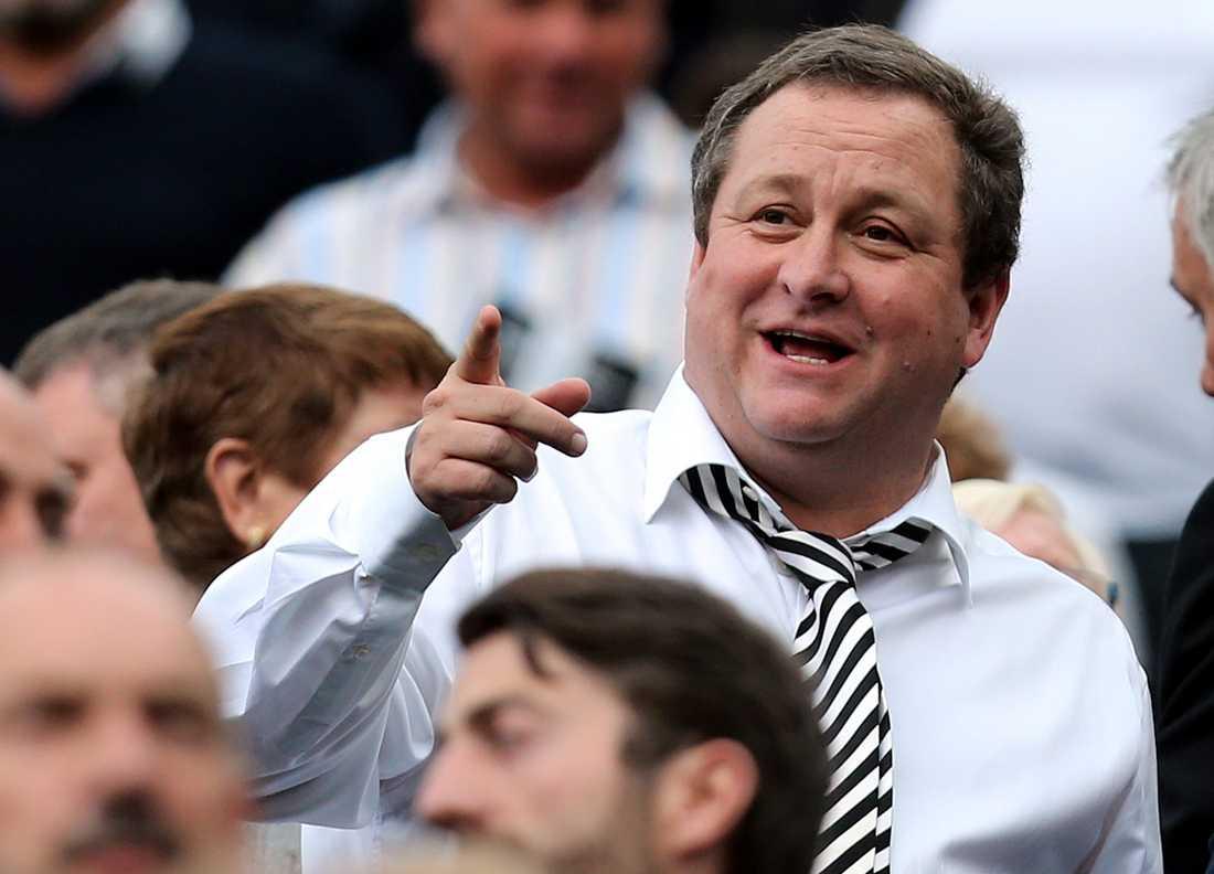 Newcastles ägare Mike Ashley hoppas på en snabb försäljning.