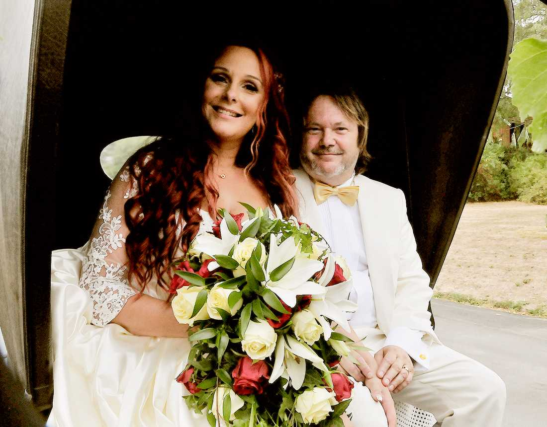 Tommy Ekman och Madelene Gustavsson.