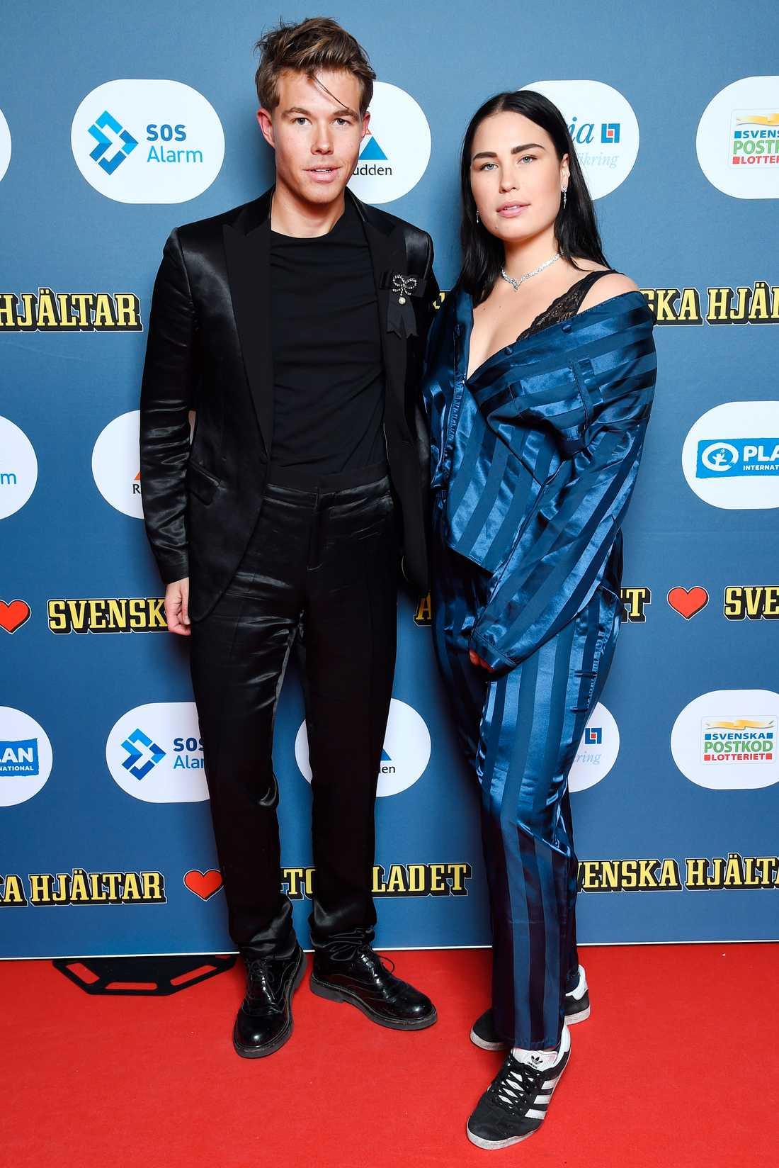 Andreas Wijk och Molly Petersson Hammar.
