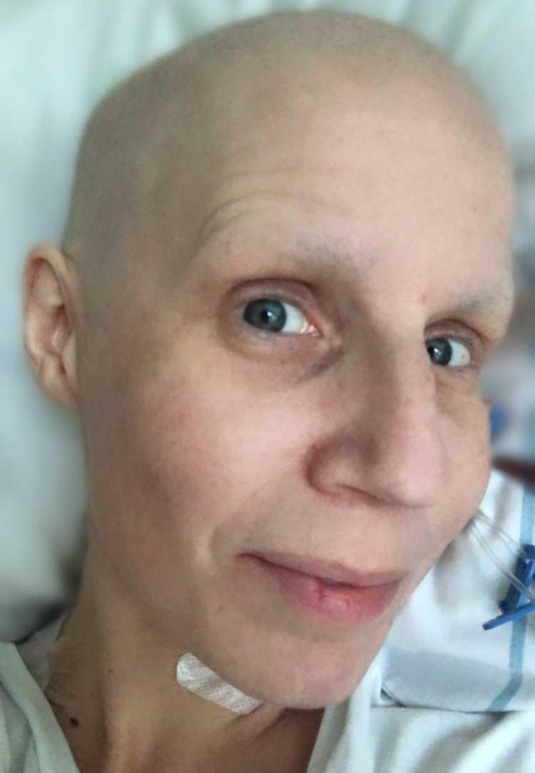 Maria insjuknade i cancer förra året.