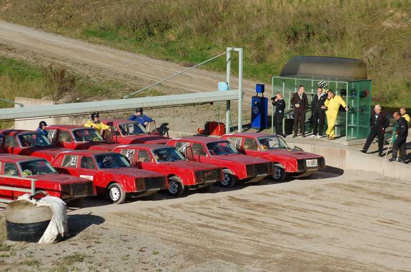 Vissa av Volvo 240-bilarna hunnit med upp till 900 tävlingar.