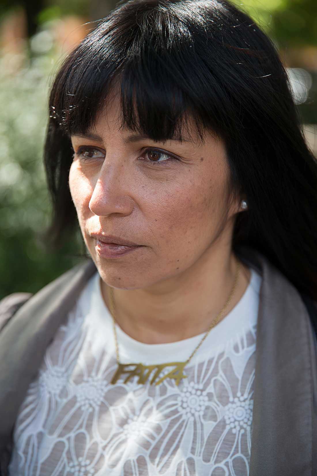 Rossanna Dinamarca, ledamot i V:s verkställande utskott.