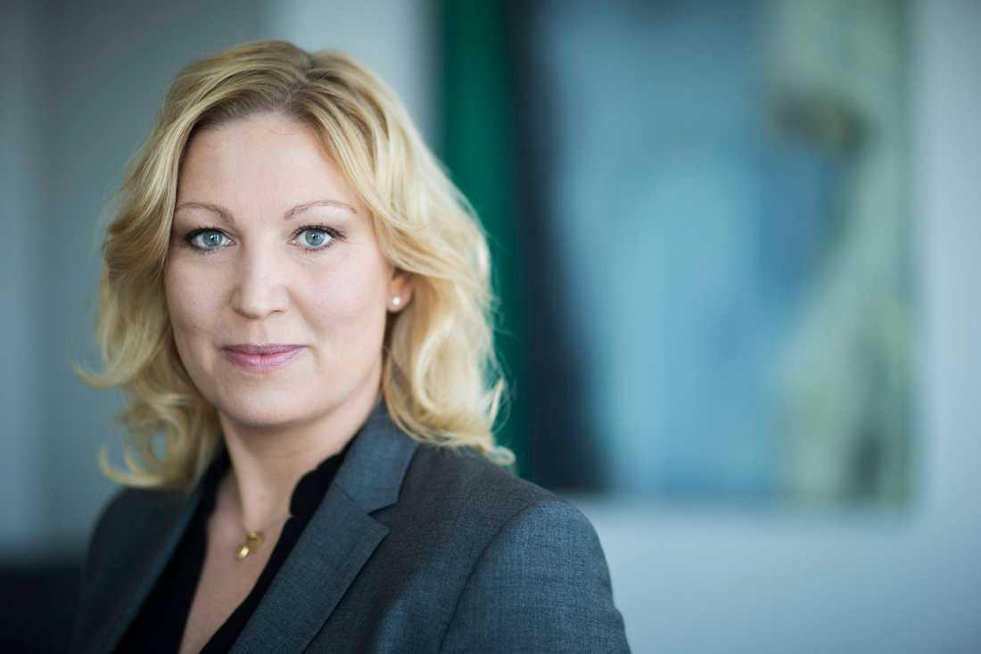 Lärarförbundets ordförande Johanna Jaara Åstrand.