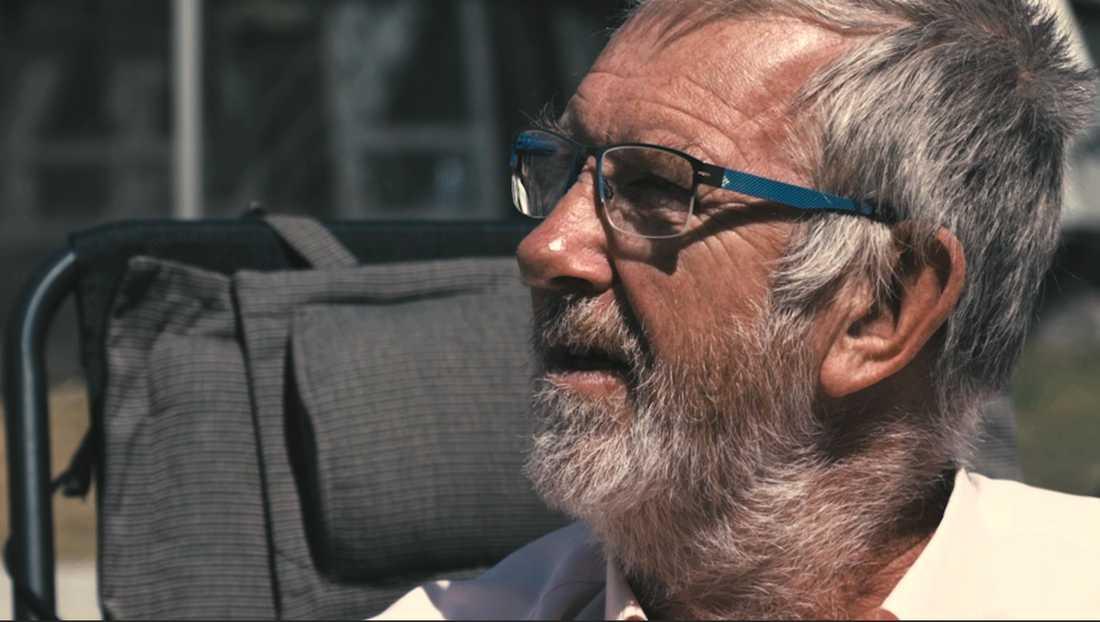 Lasse Åkerfeldt har varit en campingfantast i 30 år.
