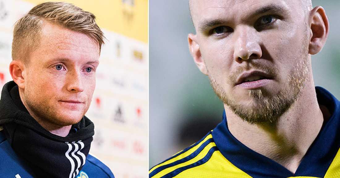 Sam Larsson och Marcus Danielson blir lagkamrater.