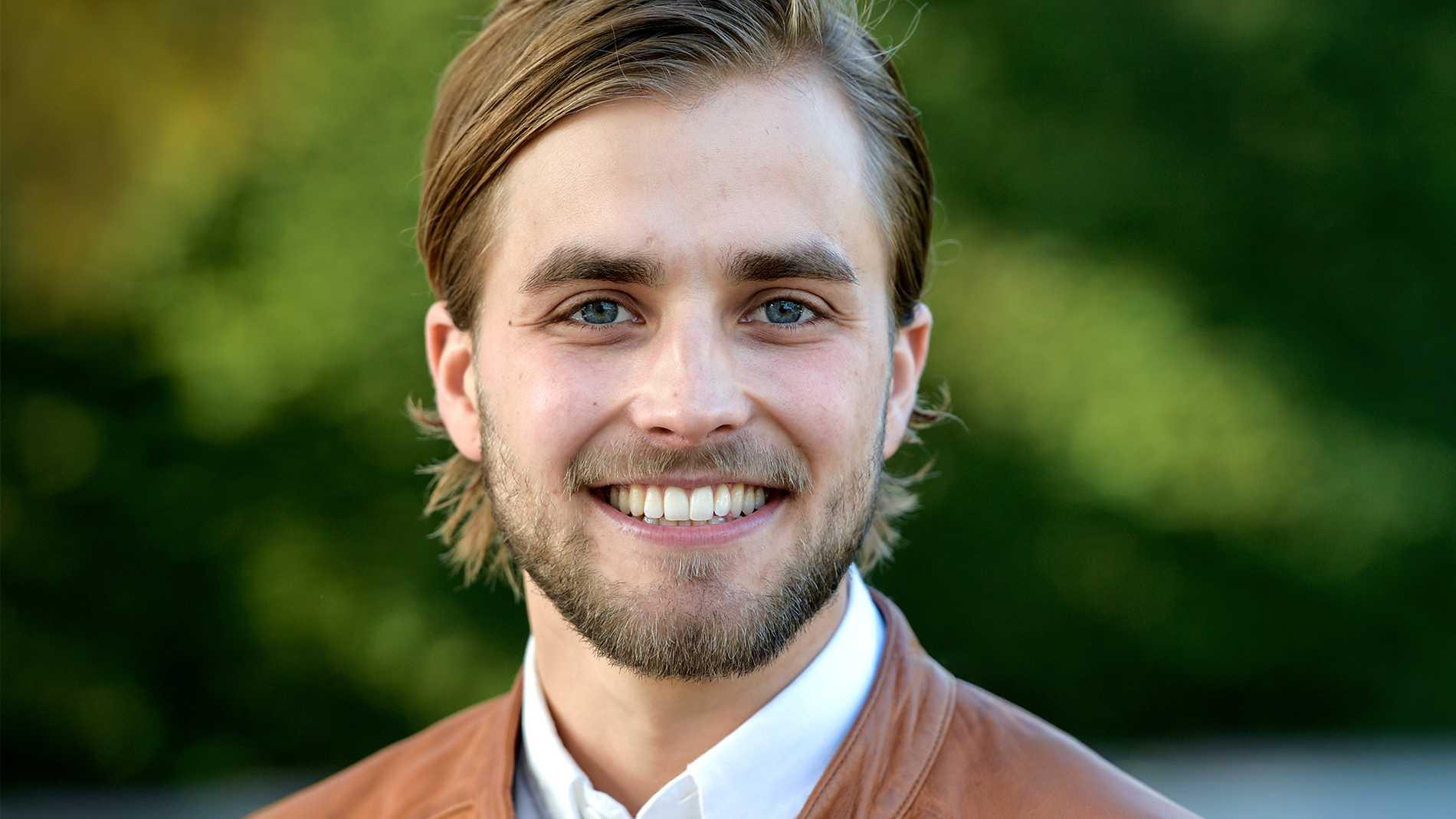 """Håkans """"farbror"""", Joacim Rickling, som var med i Bonde söker fru 2017."""