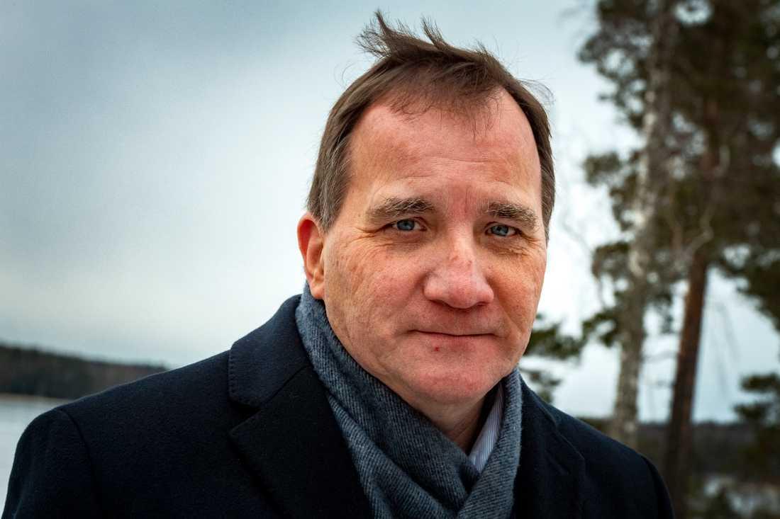 Stefan Löfven (S), statsminister.