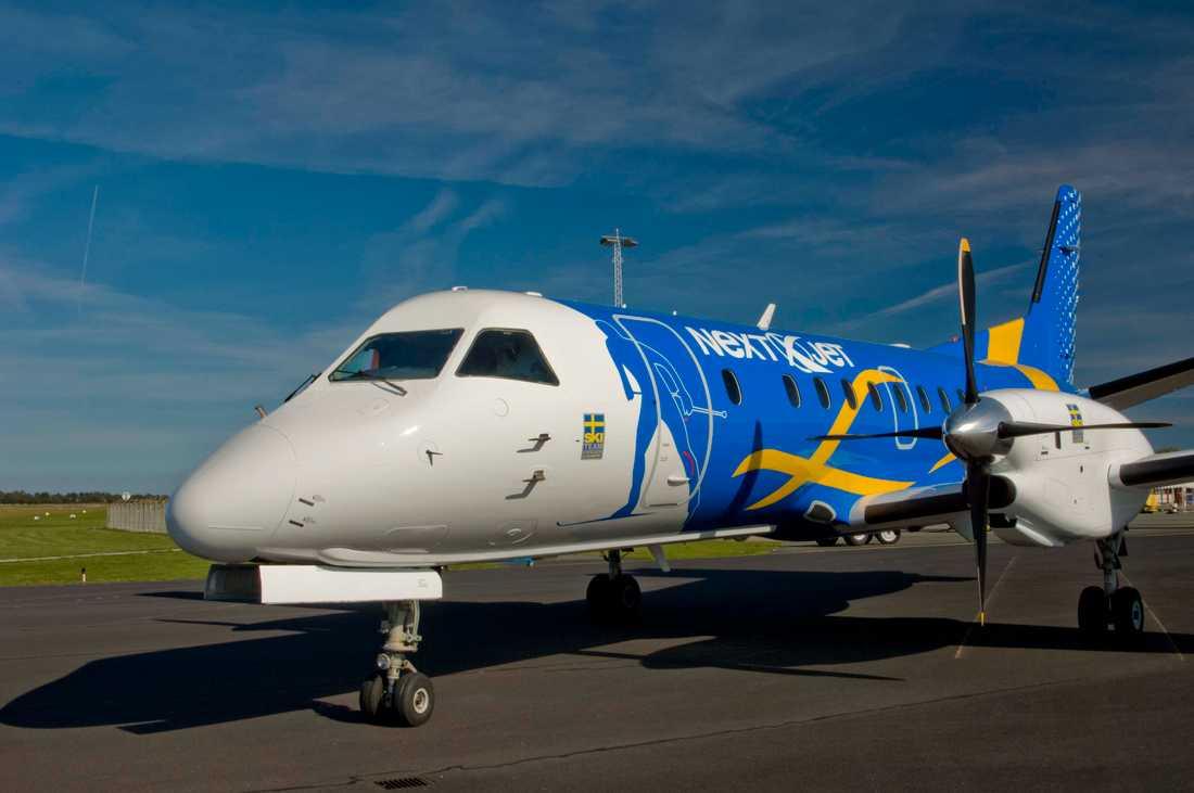 Flygbolaget Nextjet meddelar att de genast ställer in alla flyg och ansöker om konkurs.