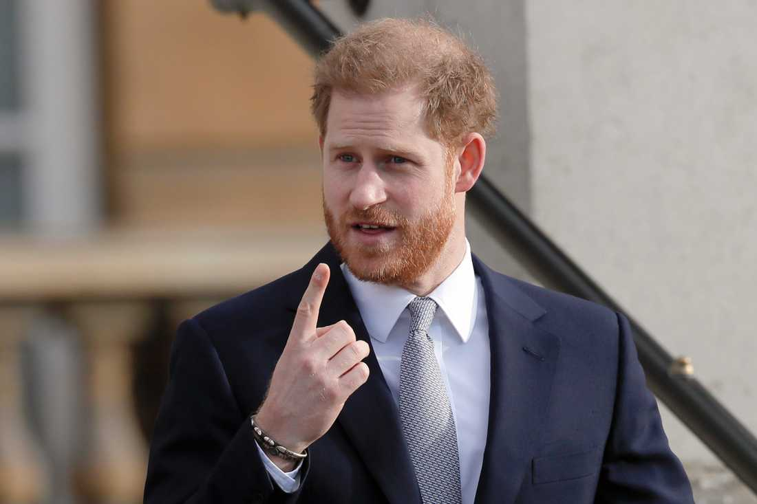 Storbritanniens prins Harry. Arkivbild.