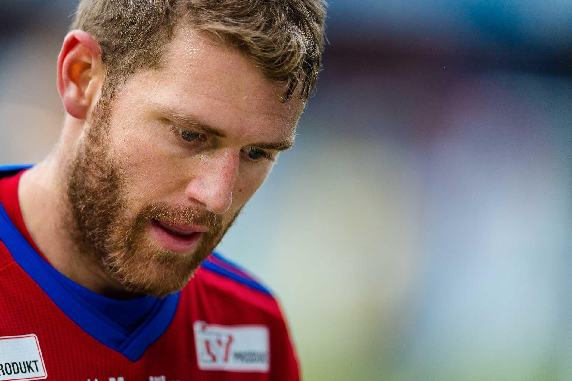 Stefan Karlsson från tiden i Öster, numera tränare i Växjö DFF.
