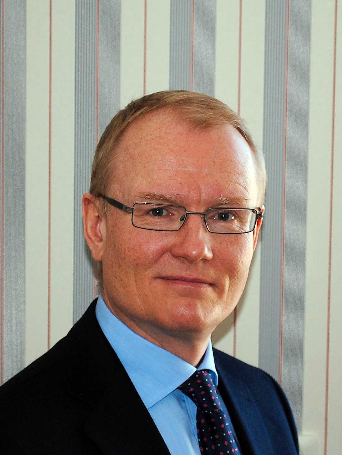 SOS Alarms vd Johan Hedensiö beklagar.