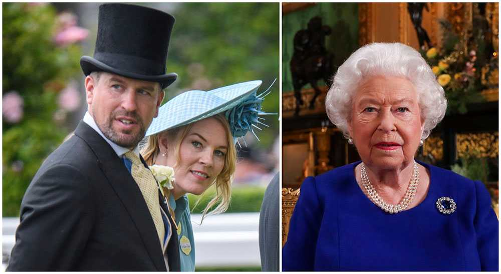 Peter Philips och Autumn ska separera enligt uppgifter till brittisk press. Peter Philips är drottning Elizabeths favoritbarnbarn.