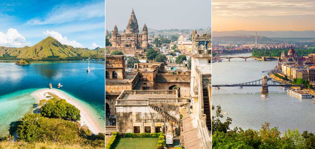 Både paradisstränder och huvudstäder kan vara prisvärda.
