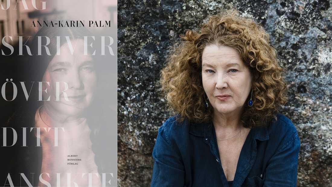 """Anna-Karin Palm (född 1961) romandebuterade 1991 och har utkommit med ett tiotal verk, senast en biografi över Selma Lagerlöf, """"Jag vill sätta världen i rörelse"""" (2019)."""