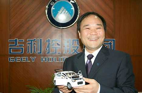 Li Shufu, grundare och ägare till Zhejiang Geely Holding Group, som är på väg att köpa Volvo Personvagnar från Ford.