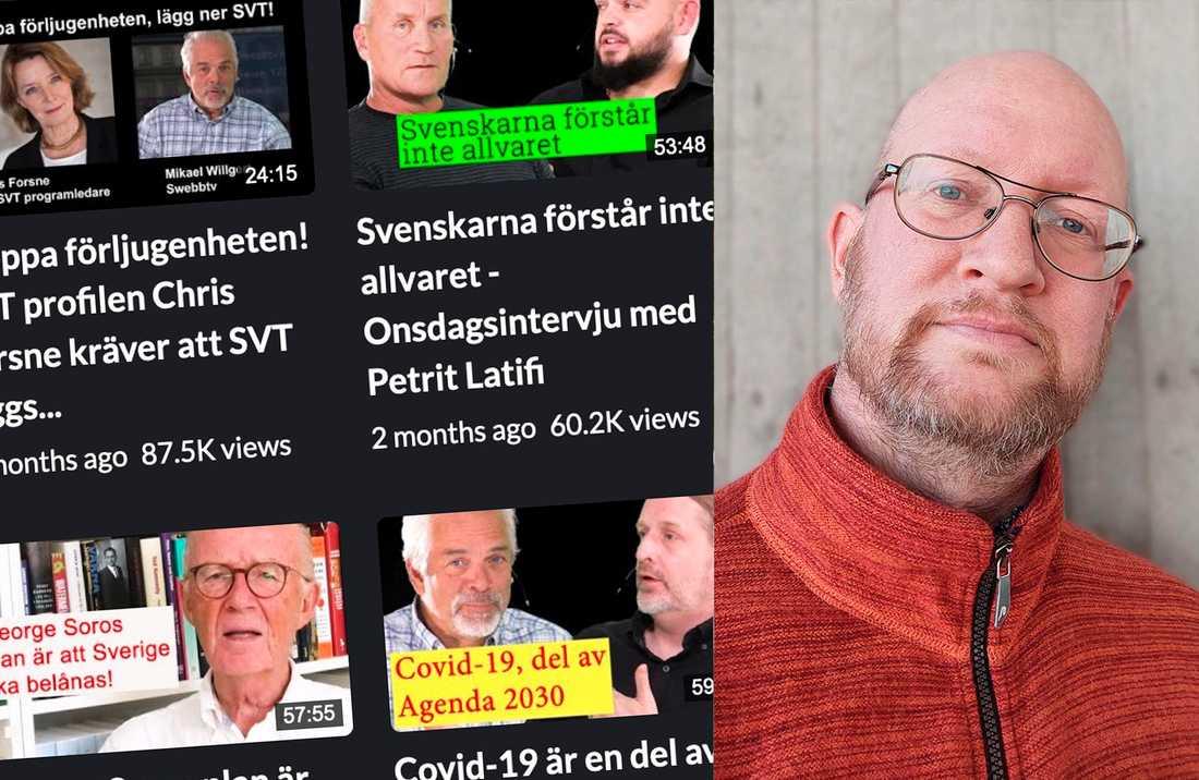Swebbtv är den största av ytterhögerns mediekanaler, skriver Mathias Wåg.