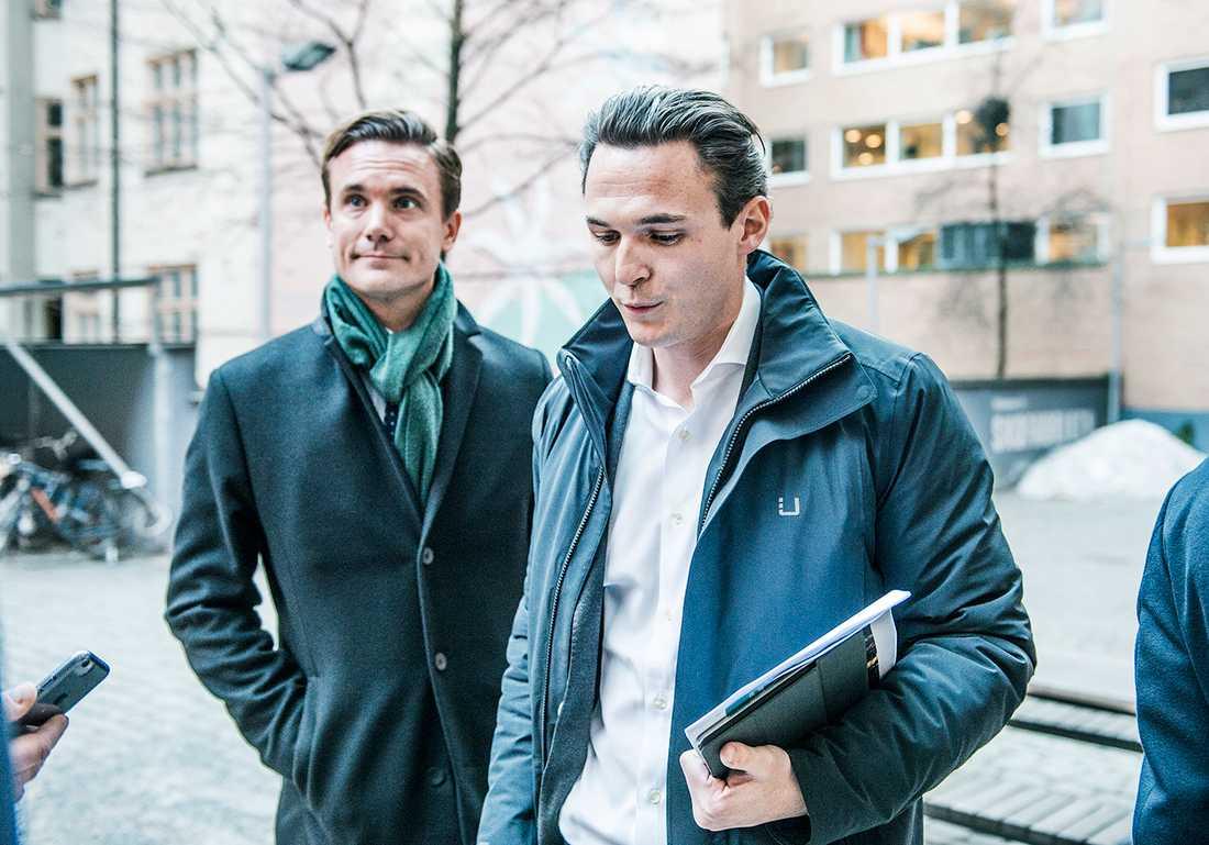 Allras huvudägare David Persson och Alexander Ernstberger.