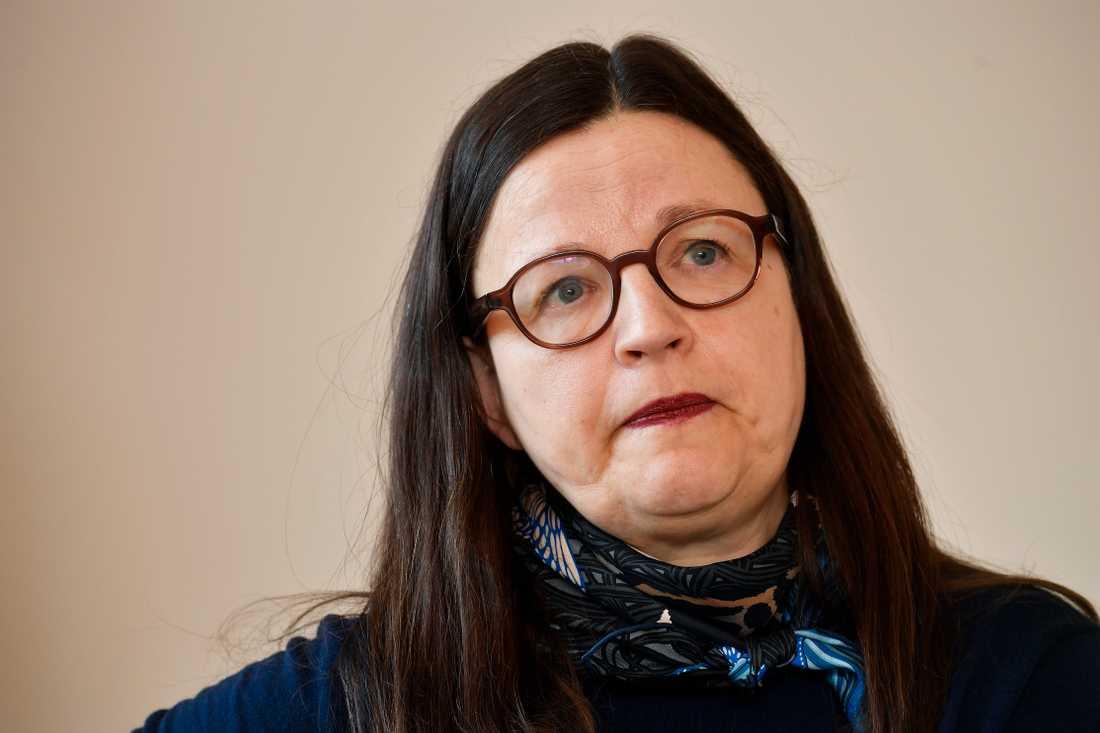 Anna Ekström (S), utbildningsminister.