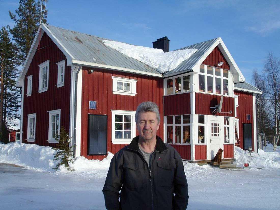 Tage Lidström har bytt ut vitvarorna till mer energisnåla varianter för att få ner elförbrukningen.