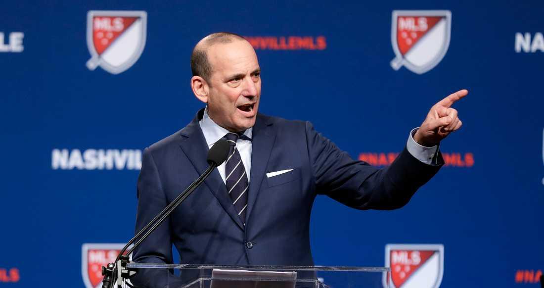 MLS ligachef Don Garber