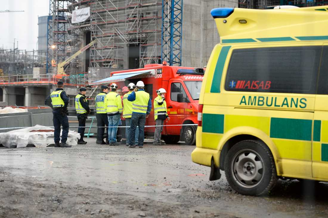 Två personer omkom och en skadades i en arbetsplatsolycka 2014 vid Hjorthagen i Stockholm. Arkivbild.