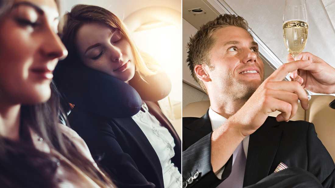 Flygvärdinnan Annie Kingston ger sex tips för hur man ska optimera sin flygresa