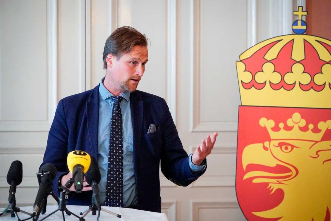Skånes regionråd Carl Johan Sonesson (M).