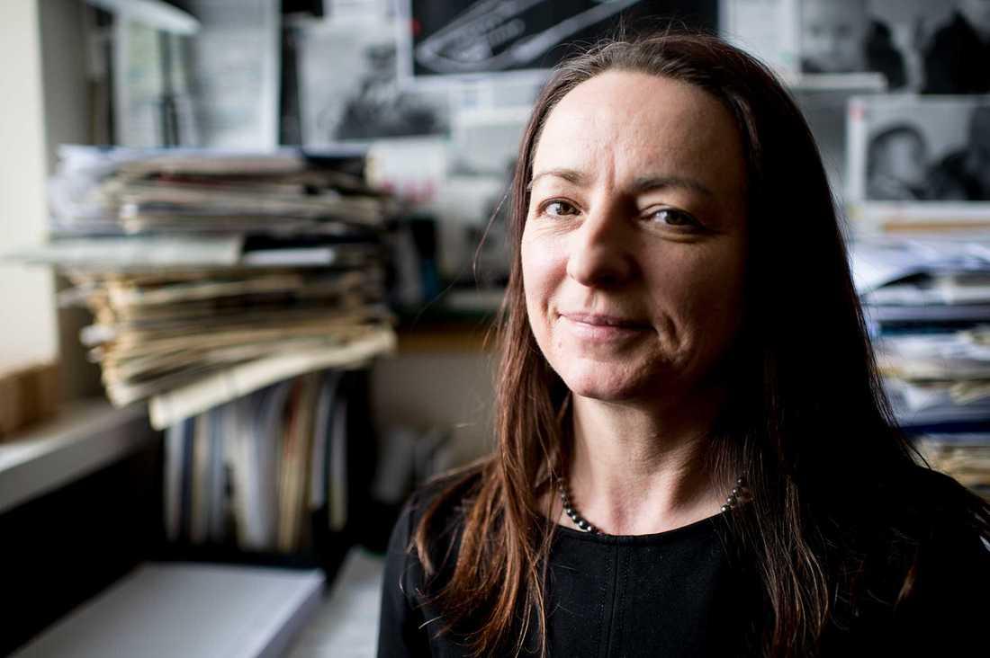 Dorota Zielinska, presskontakt på Polska journalistförbundet.