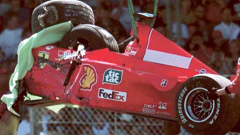 Krasch Nu ska Schumacher hjälpa Ferrari att komma i form inför säsongen.