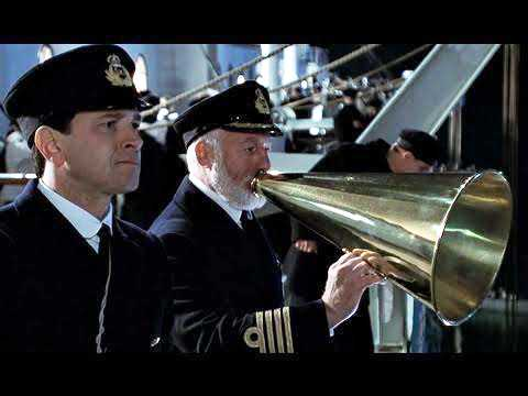 """Mark Chapman (till vänster) i """"Titanic""""."""
