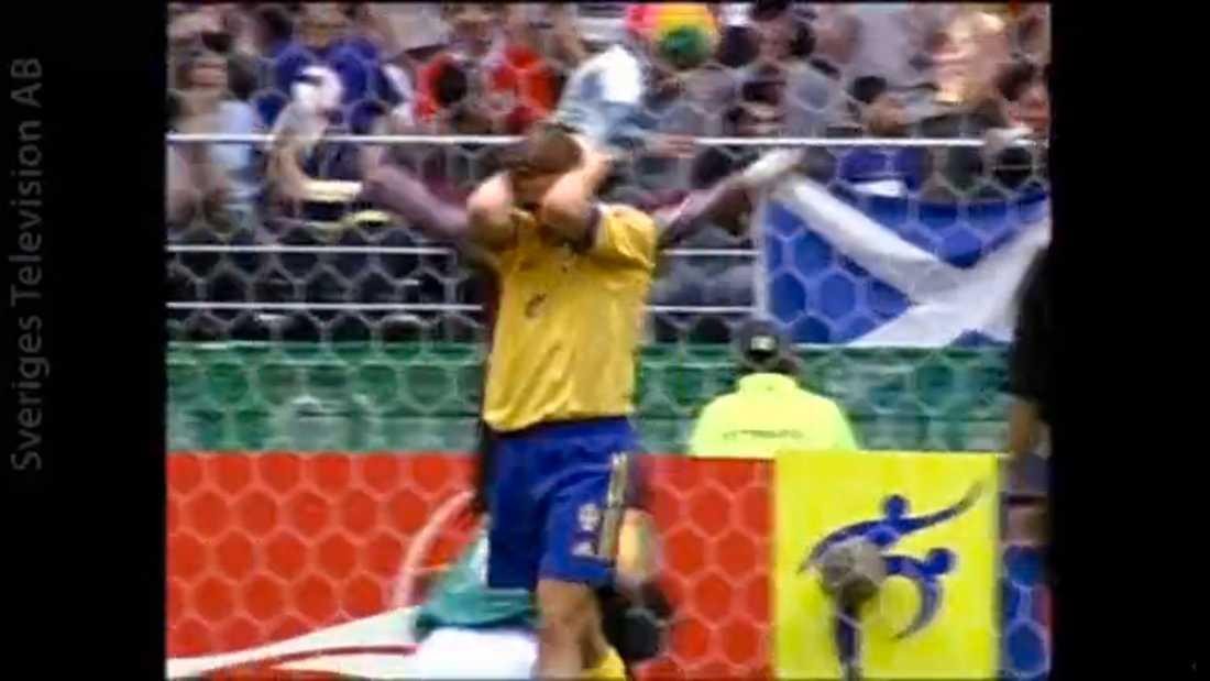 Svensson efter nederlaget i VM 2002.