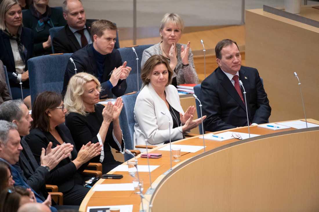 Klimatpolitik kommer att väga tungt i den första budgeten från S, MP, C och L.