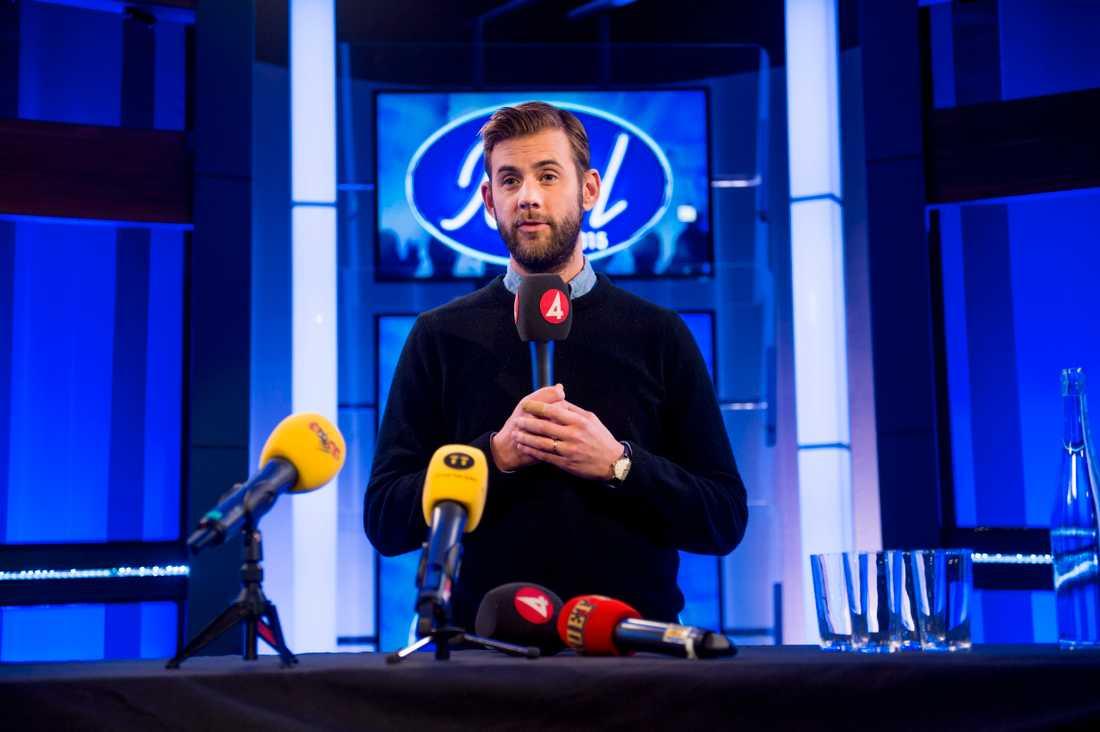 """Pär Lernström är programledare för """"Idol"""". Arkivbild."""