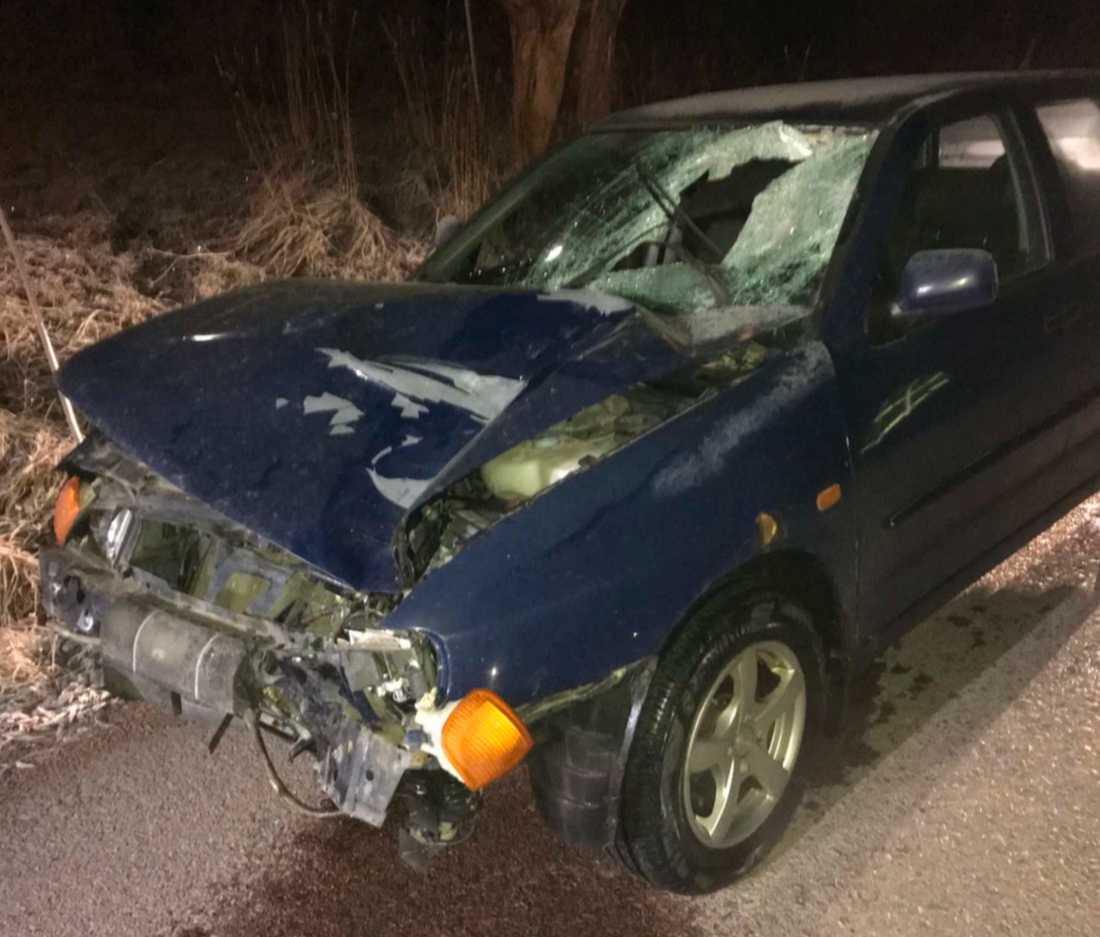 50-åringen som körde bilen är dömd 24 gånger tidigare.