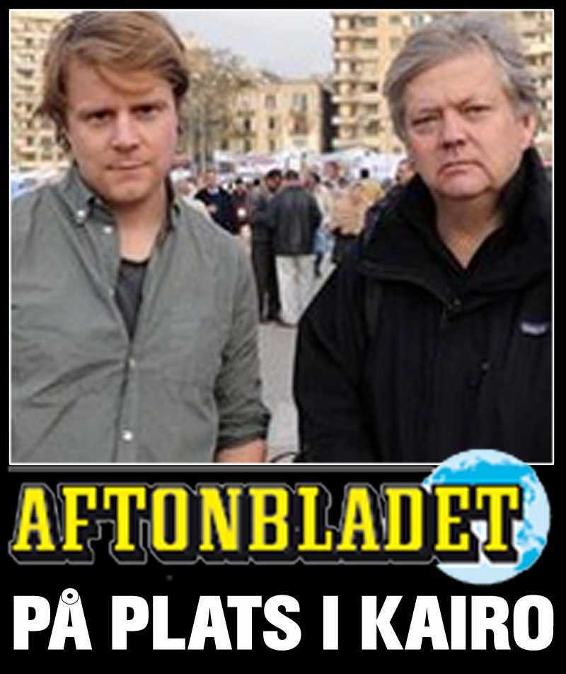 Aftonbladets Staffan Lindberg och Urban Andersson chattar med läsarna –direkt från Kairo.
