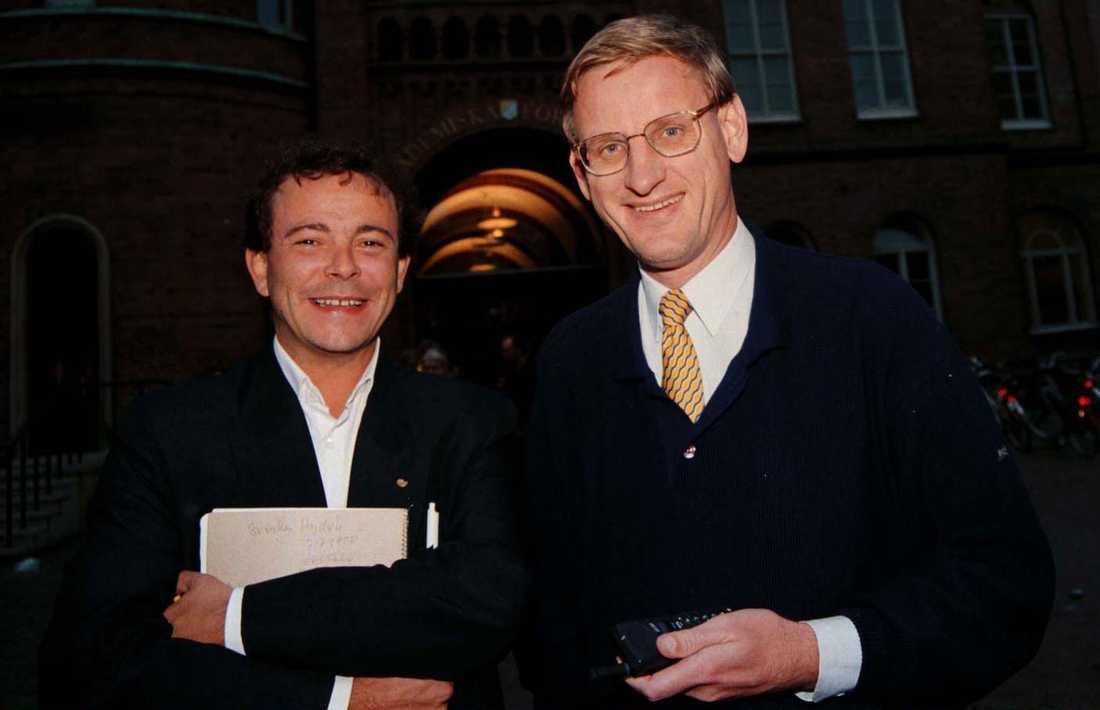 Med Carl Bildt.