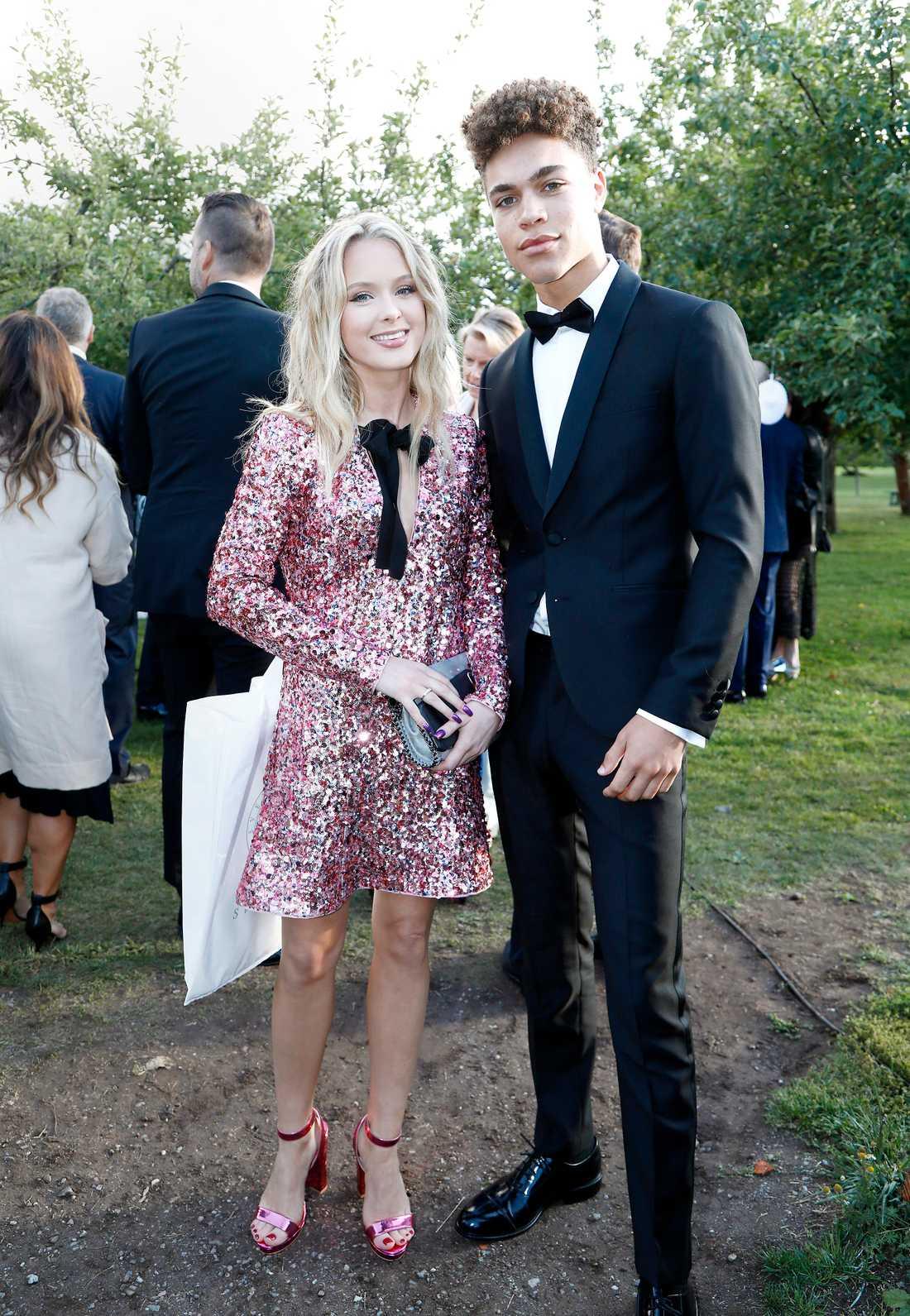 Zara Larsson och Brian Whittaker.