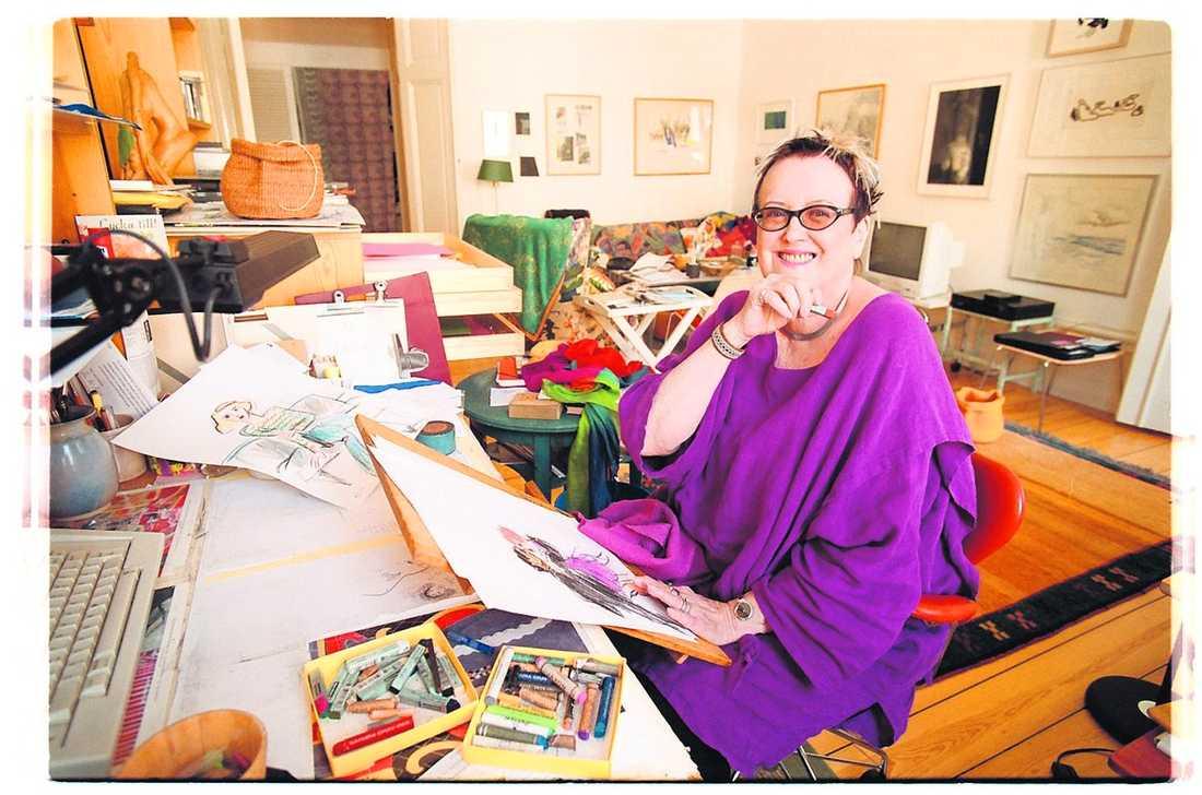 Färgsprakande författare – i fronten för kvinnorna.