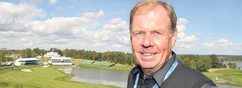 Björn Örås, ägare till Bro Hof Slott Golf Club.